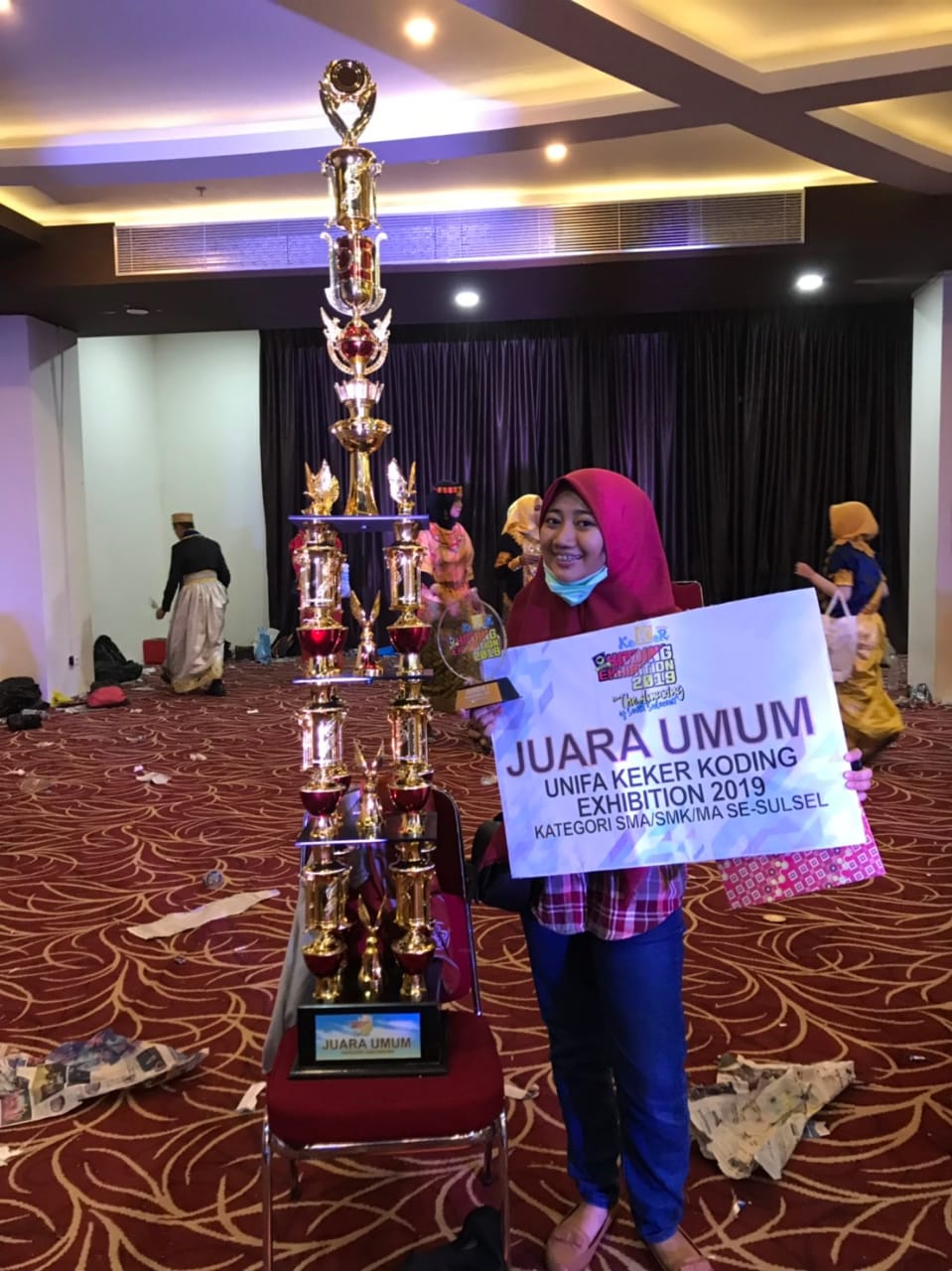 Juara Umum UNIFA Keker Koding Exhibition 2019